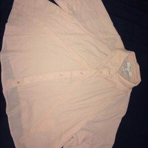 A blush blouse